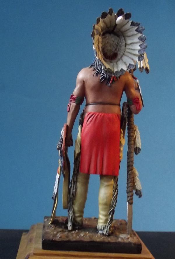 Sioux Lakota Krieger 1860 - 1870 K800_283