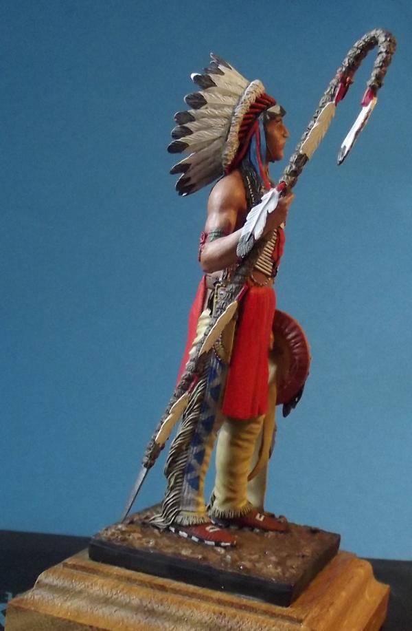 Sioux Lakota Krieger 1860 - 1870 K800_284