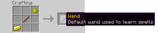 How to upgrade youre magic tools Wand10