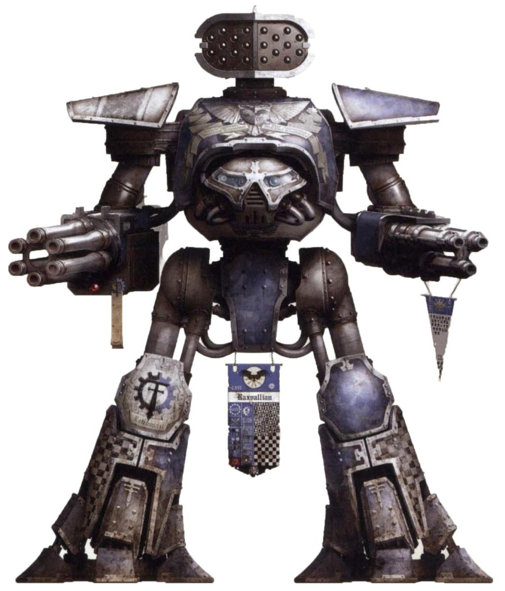 Schéma couleur et affiliation des titans et chevaliers Legio_11