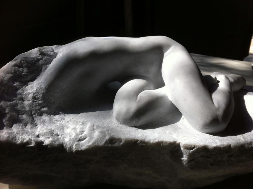 Pas à pas d'une Nymphe en marbre de Carrare Img_4610