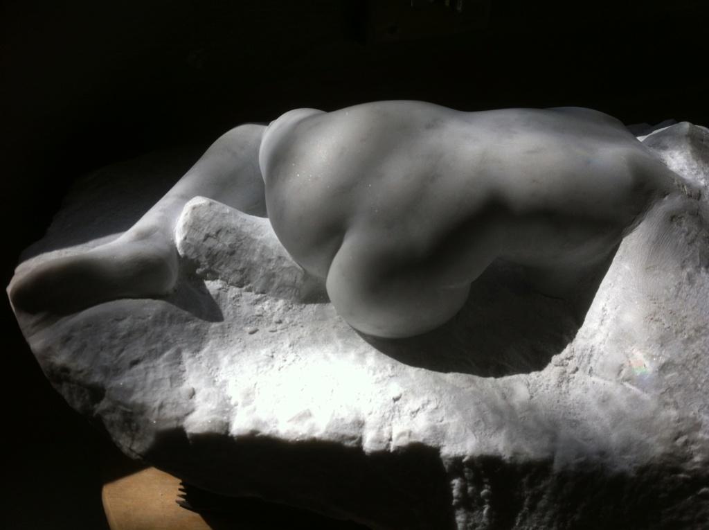 Pas à pas d'une Nymphe en marbre de Carrare Img_4613