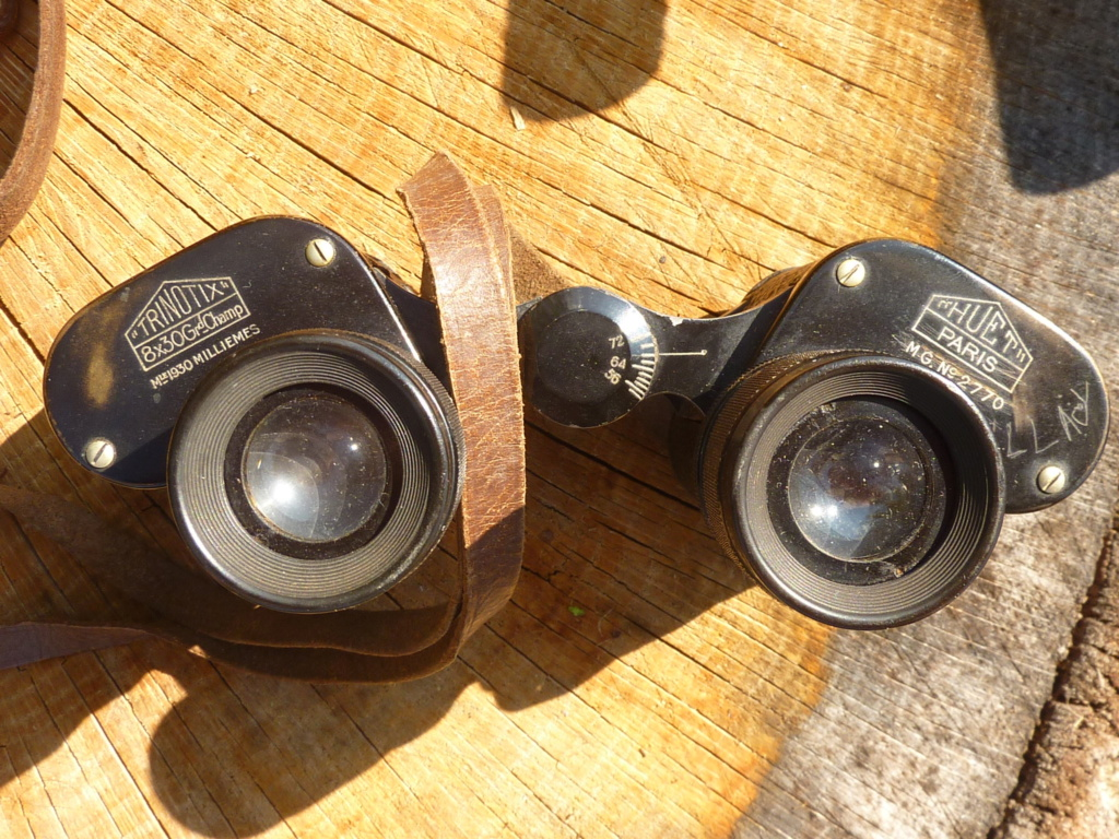 Datation jumelles HUET TRINOTIX 8x30 Mle 1930 P1190812