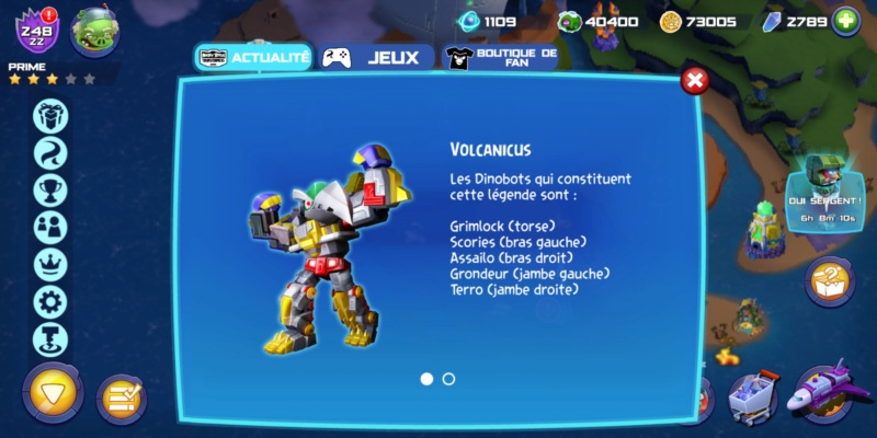 [Jeu Mobile] Transformers - Angry Birds, Forged to Fight, Earth Wars, Bumblebee Overdrive - Page 4 Screen10