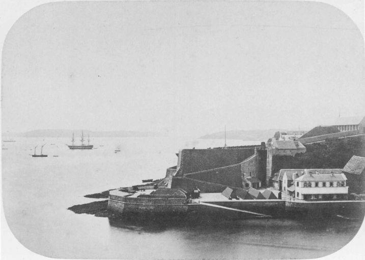 NEW - Brest et ses remparts 1859_b10