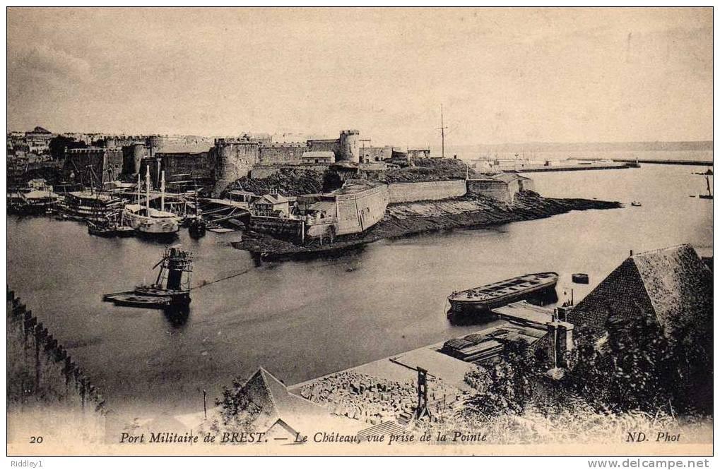 NEW - Brest et ses remparts 1880_r10
