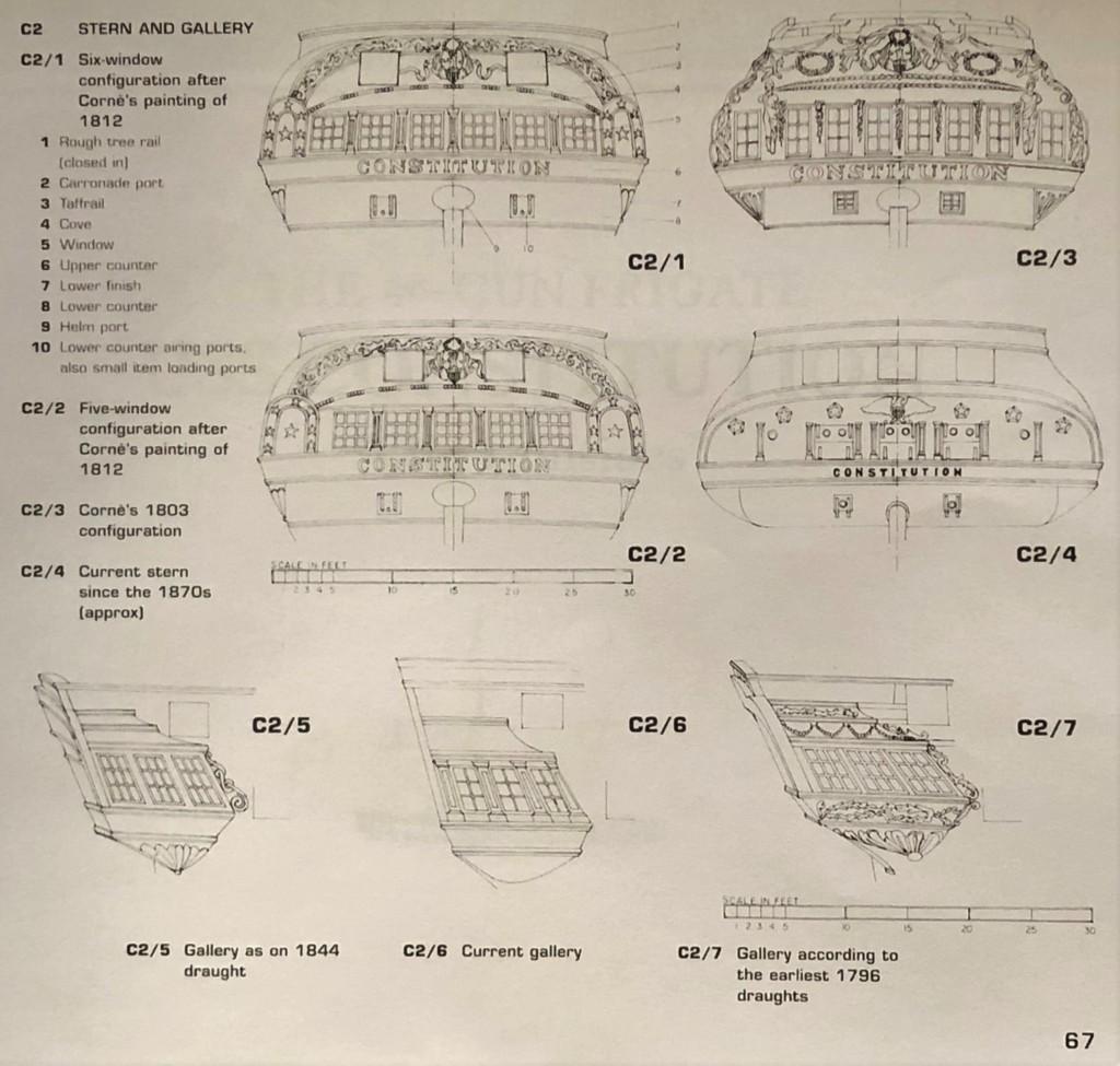 constitution - USS CONSTITUTION - Catene del timone Img_3111