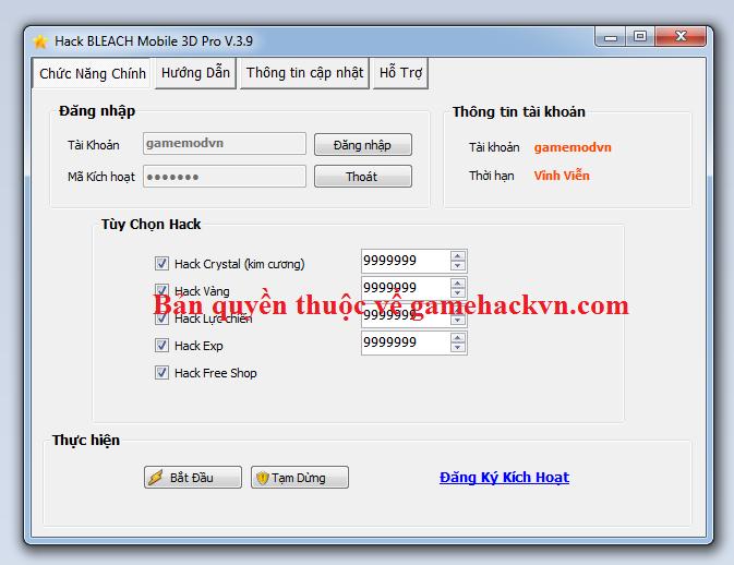 Hack Bleach Mobile 3D Việt Nam miễn phí Bleach10