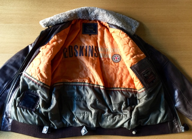Flight Jacket Redskins marron Img_e311