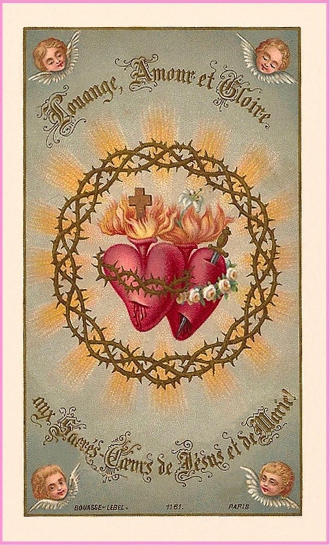L'ANNÉE MARIALE par la Mère de Chaugy - Page 23 Coeurs12