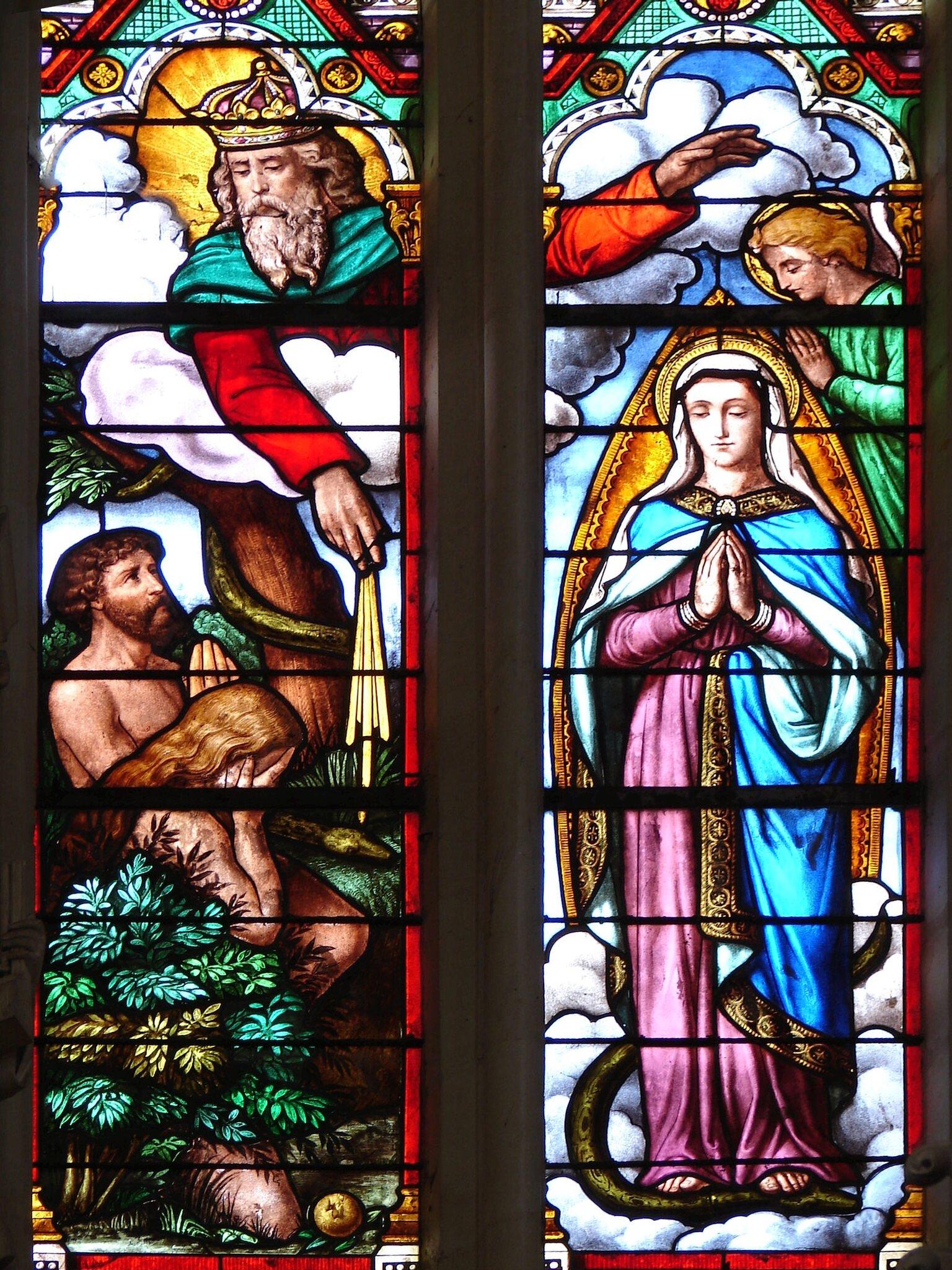 L'ANNÉE MARIALE par la Mère de Chaugy - Page 2 Dieu_a10