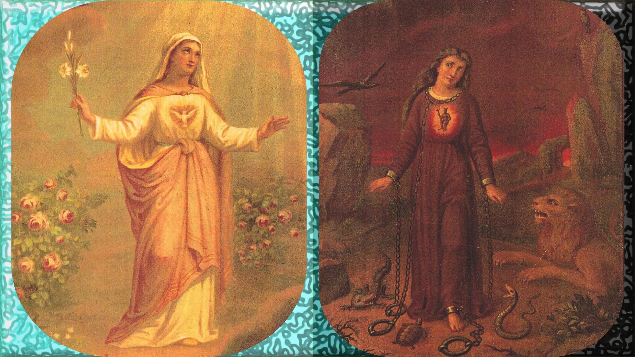 L'ANNÉE MARIALE par la Mère de Chaugy - Page 2 Marie_10