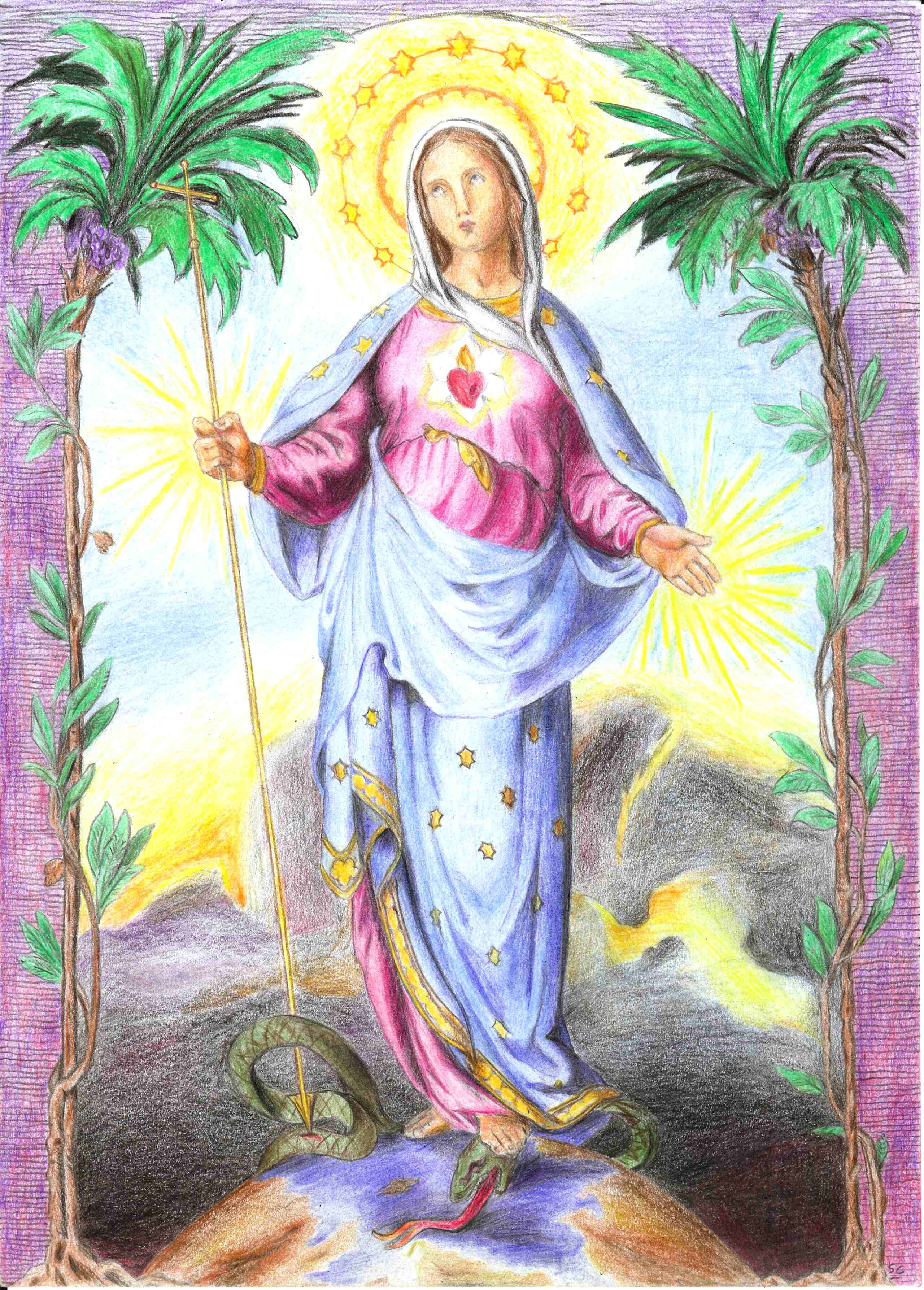 L'ANNÉE MARIALE par la Mère de Chaugy - Page 22 Marie_18