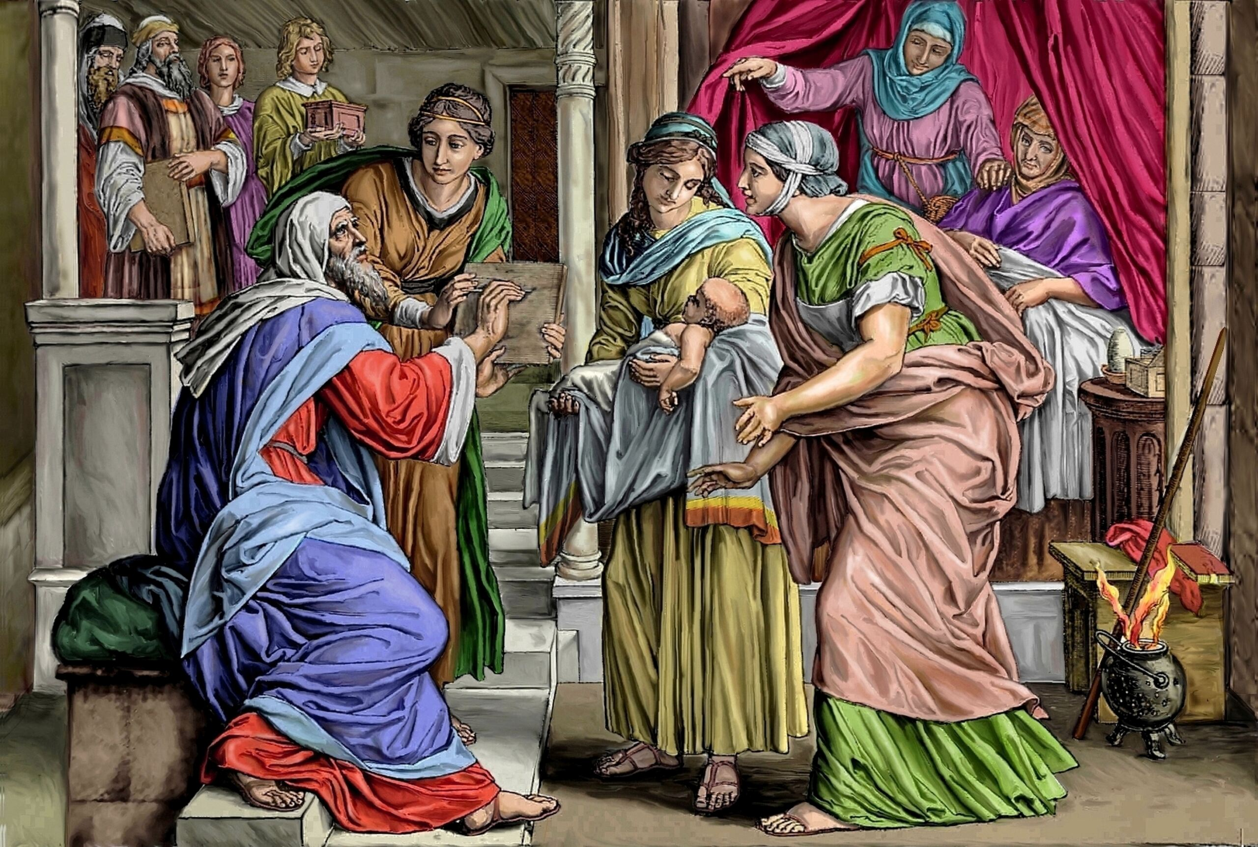 L'ANNÉE MARIALE par la Mère de Chaugy - Page 24 Naissa10