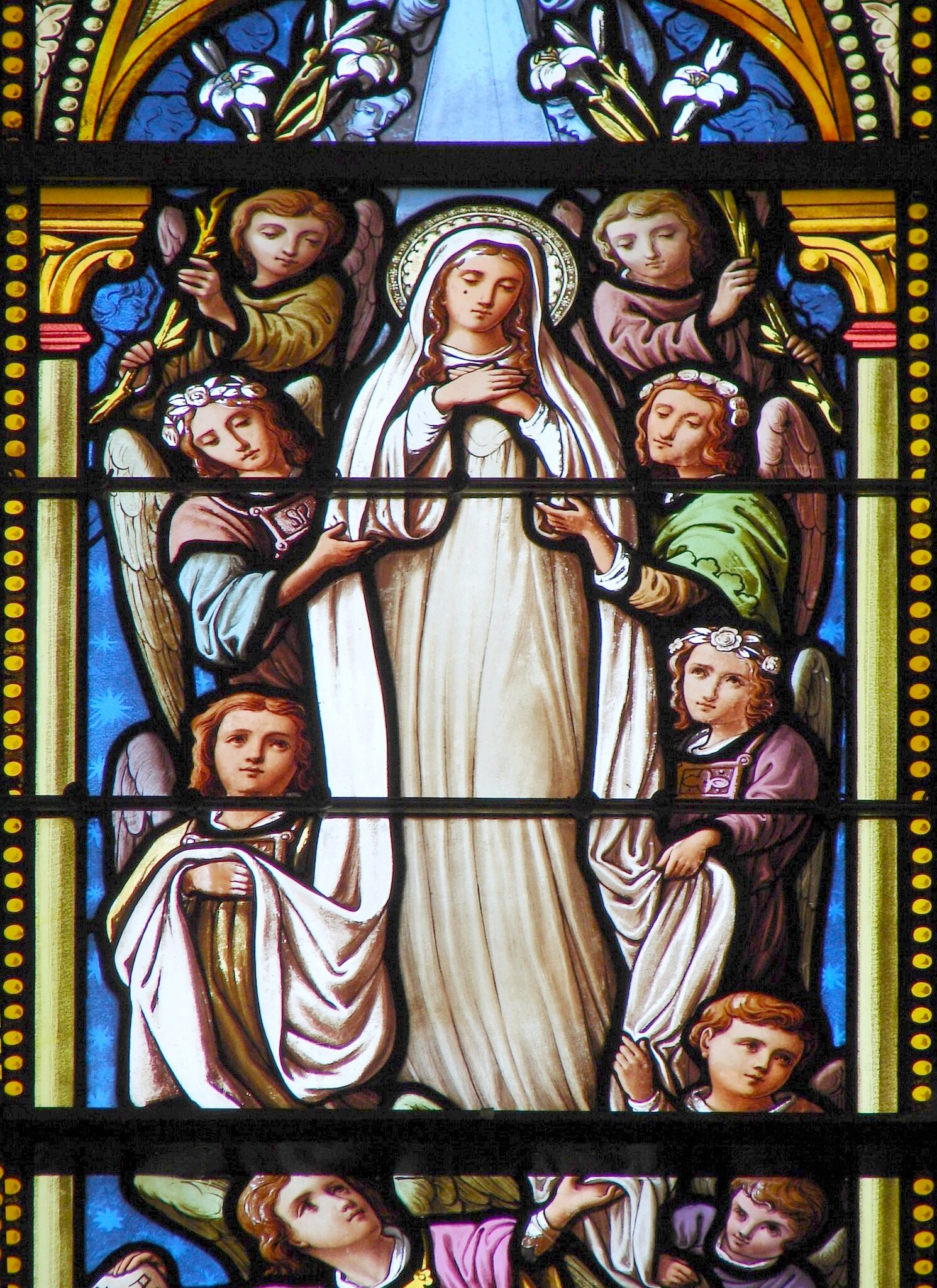 L'ANNÉE MARIALE par la Mère de Chaugy - Page 26 Notre-97