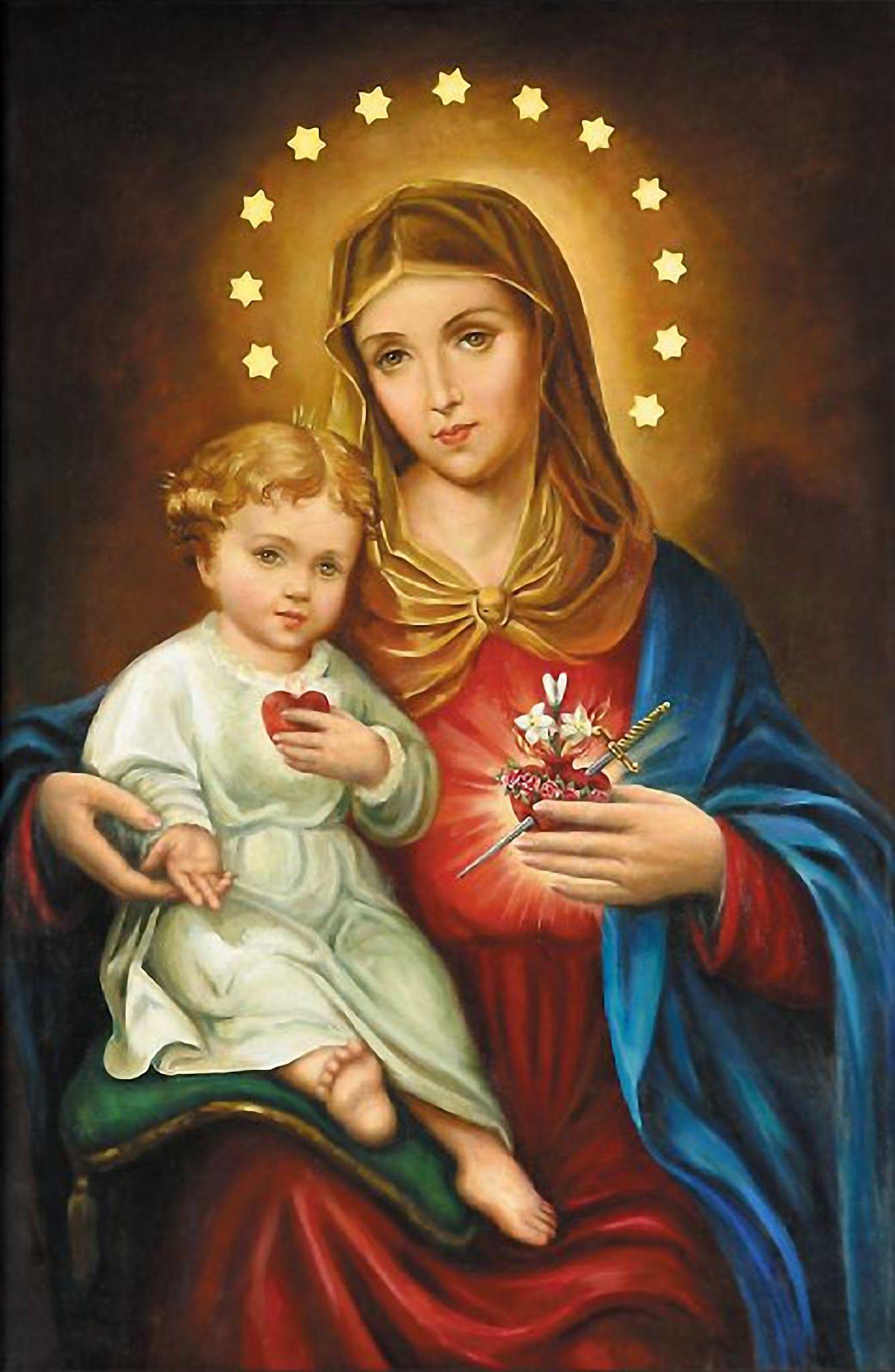 L'ANNÉE MARIALE par la Mère de Chaugy - Page 10 Sacrzo11