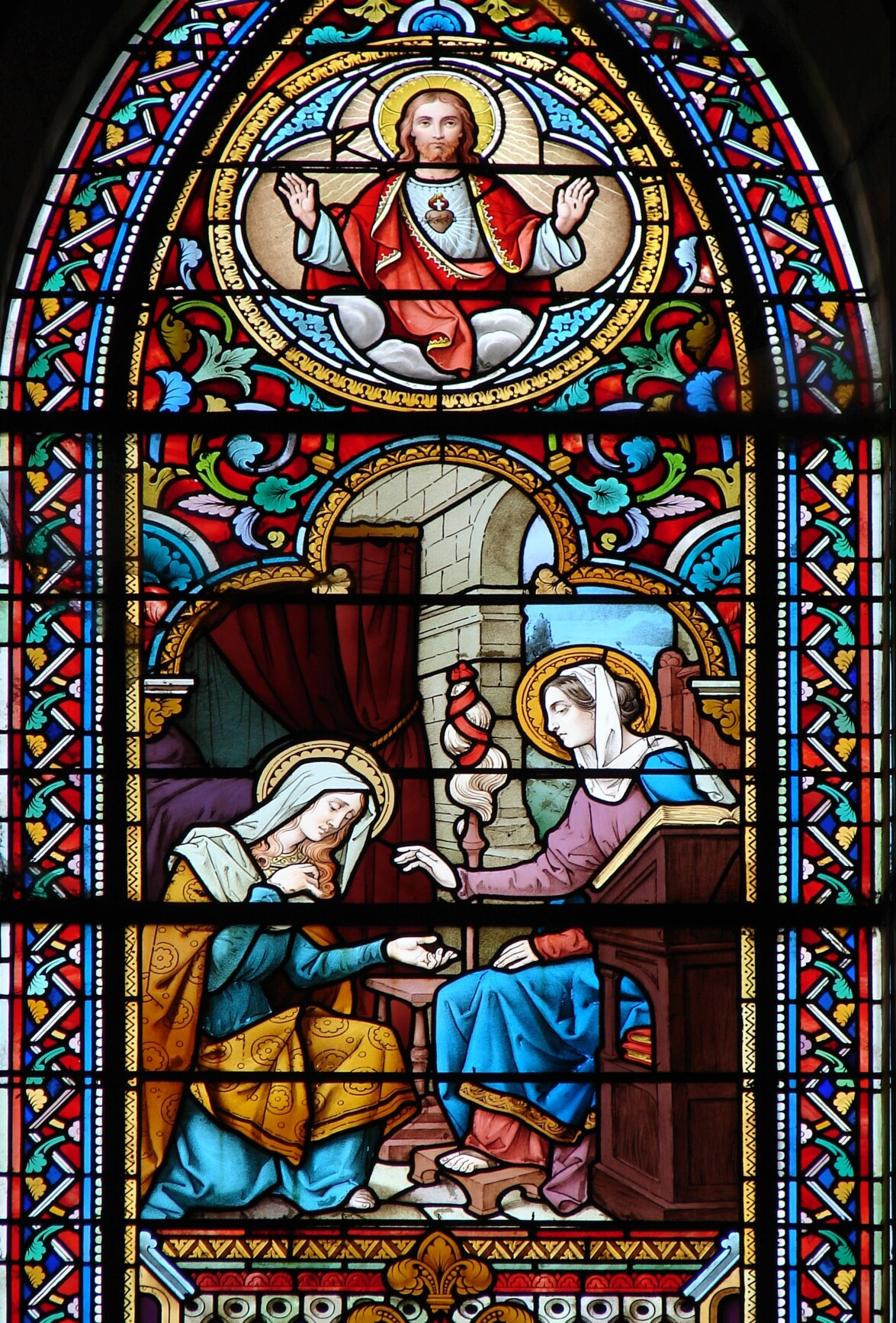 L'ANNÉE MARIALE par la Mère de Chaugy - Page 12 Ste_ma14