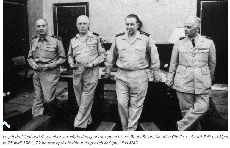 LE PUTSCH  21 AVRIL 1961- Récit d'un commando du 40 - Page 5 Genera10