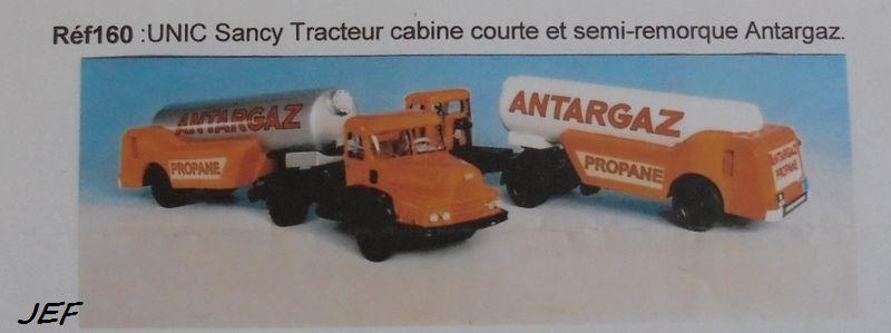 MINITRUCKS UNIC SANCY et  SEMI ANTARGAZ Réf 160 ( 03/2004 ) Antar_29