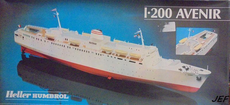 Fil rouge 2021 *  Car Ferry AVENIR HELLER 1/200 Réf 80625 - Page 2 Ave_0011