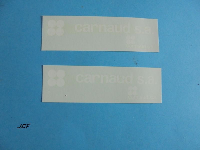 MINITRUCKS BERLIET GR280 ET REMORQUE 2 ESSIEUX CARNAUD S.A réf 127/128 ( 1999 ) Carn_015