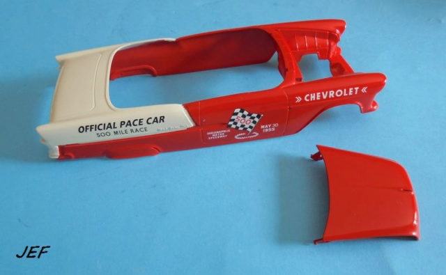CHEVY 55 INDY PACE CAR  1/25 REVELL - Page 3 Che_0325