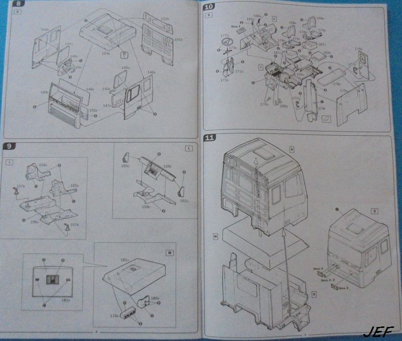 [ITALERI] DAF 95 bâché transports CHEVRIER 1/24ème Réf 3914 - Page 2 Daf_0018