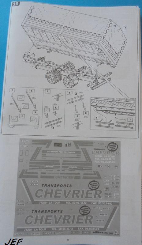 [ITALERI] DAF 95 bâché transports CHEVRIER 1/24ème Réf 3914 - Page 2 Daf_0019