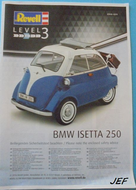 BMW ISETTA 250   REVELL 1/16 Ise_0011