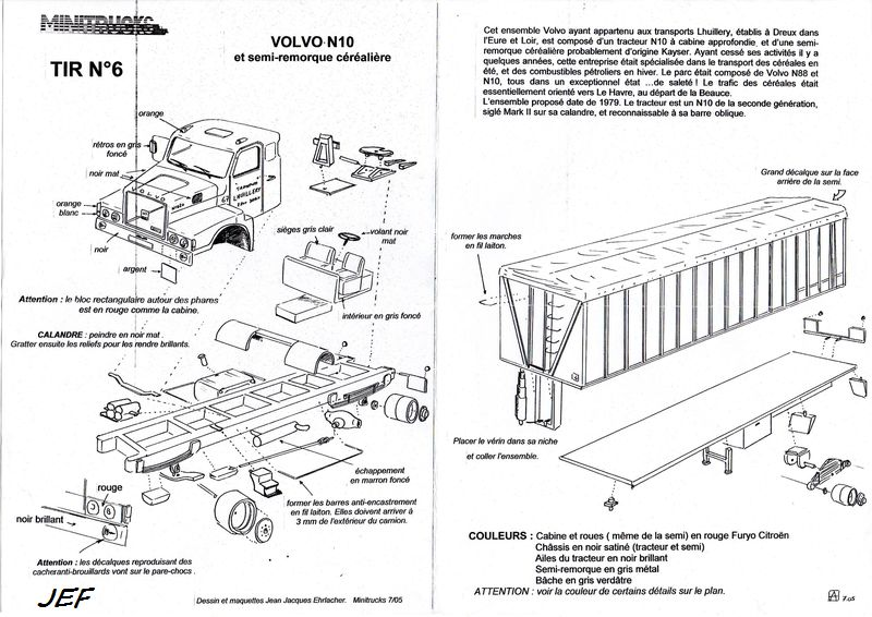 MINITRUCKS VOLVO N10 et SEMI CEREALIERE Réf TIR6 ( 07/2005 ) Lhui_011