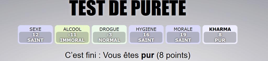 Le test de pureté  - Page 2 Result10