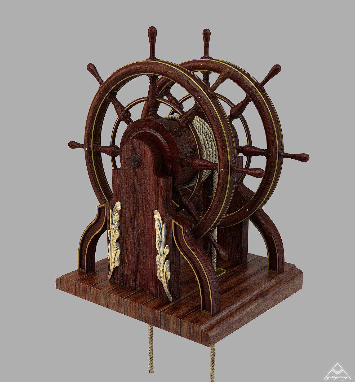 Barre à Roue (Création 3D) par Greg_3D - Page 2 Barre_29