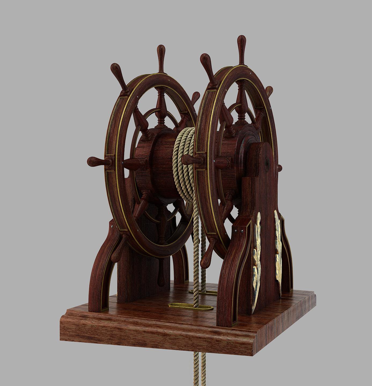 Barre à Roue (Création 3D) par Greg_3D - Page 2 Barre_33