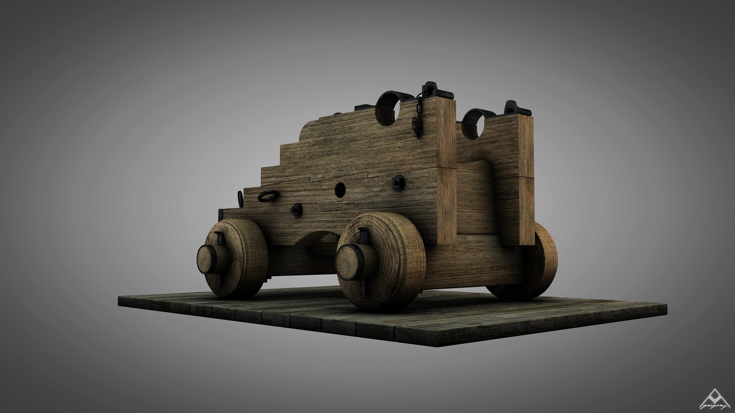 Canons de vaisseau 74 canons (Création 3D) par Greg_3D - Page 4 Canon_24