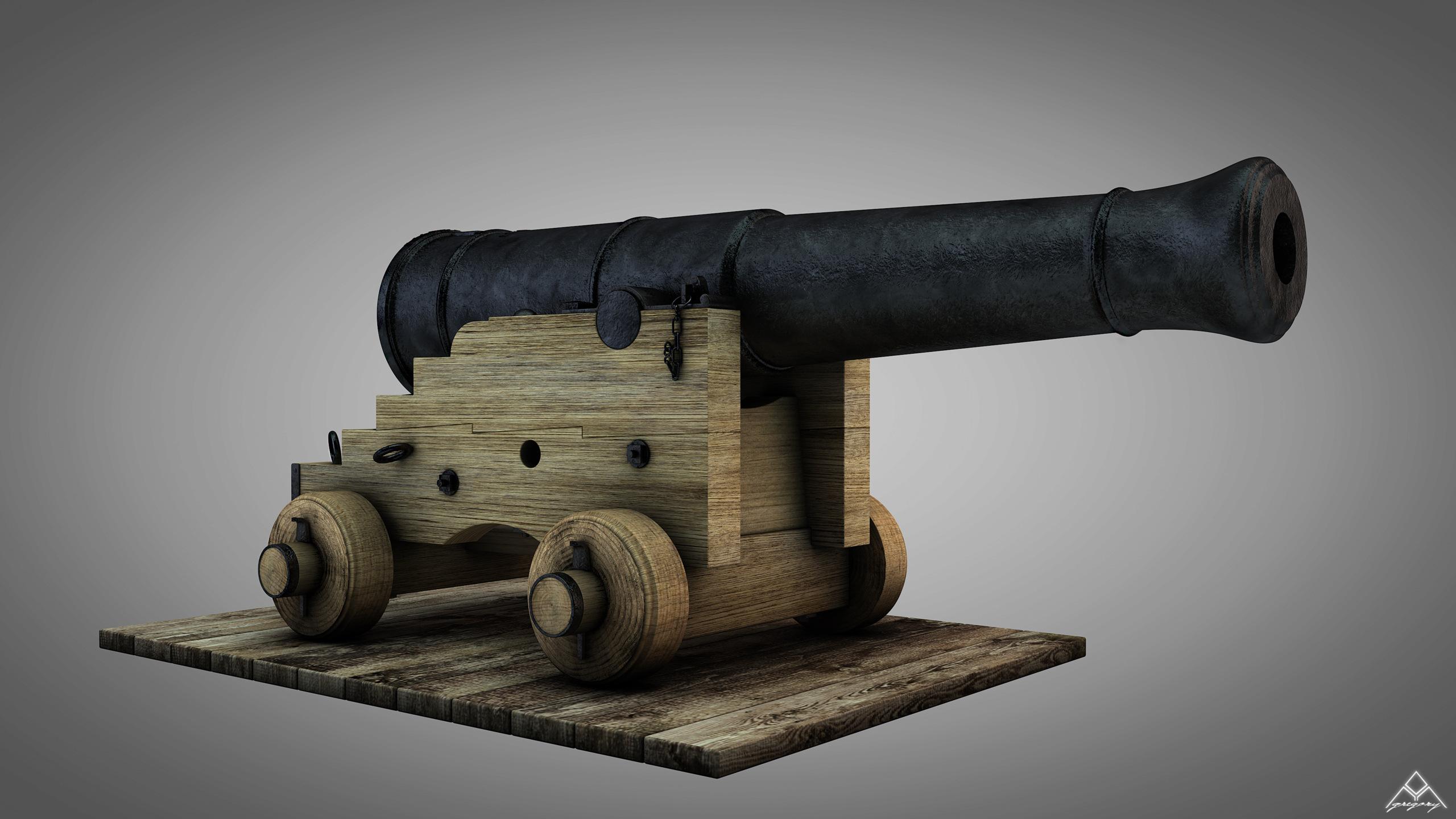 Canons de vaisseau 74 canons (Création 3D) par Greg_3D - Page 4 Canon_47
