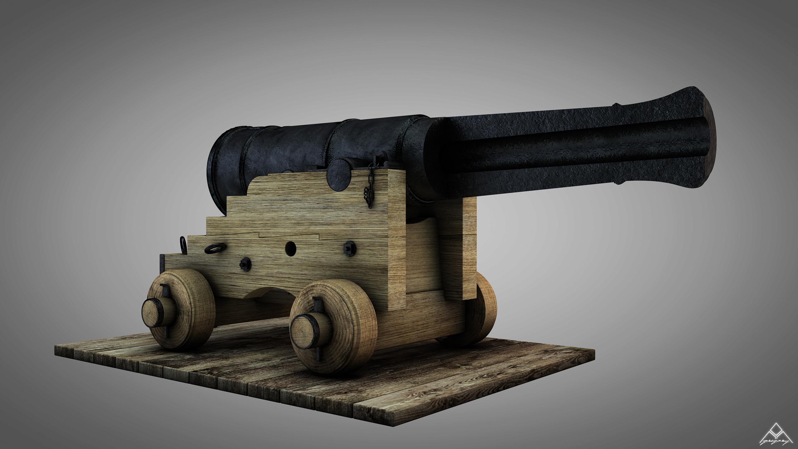 Canons de vaisseau 74 canons (Création 3D) par Greg_3D - Page 4 Canon_48