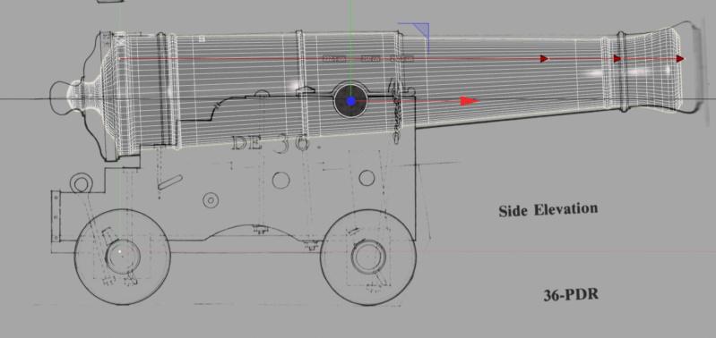 Canons vaisseau de 74 canons par Greg_3D - Page 2 Captur15