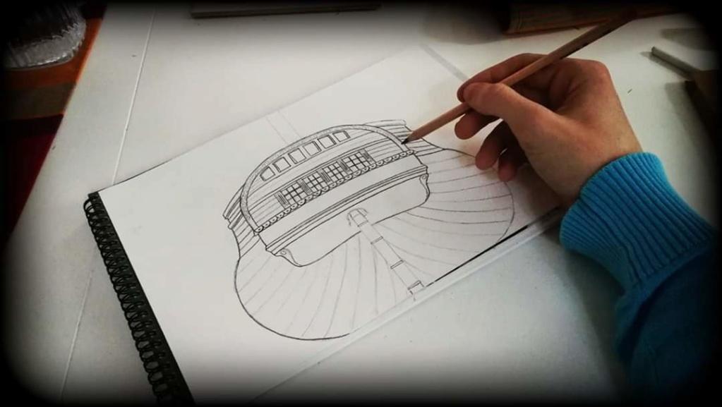 Frégate 36 canons XVIII° [Création 3D] par Greg_3D - Page 9 Drawin11