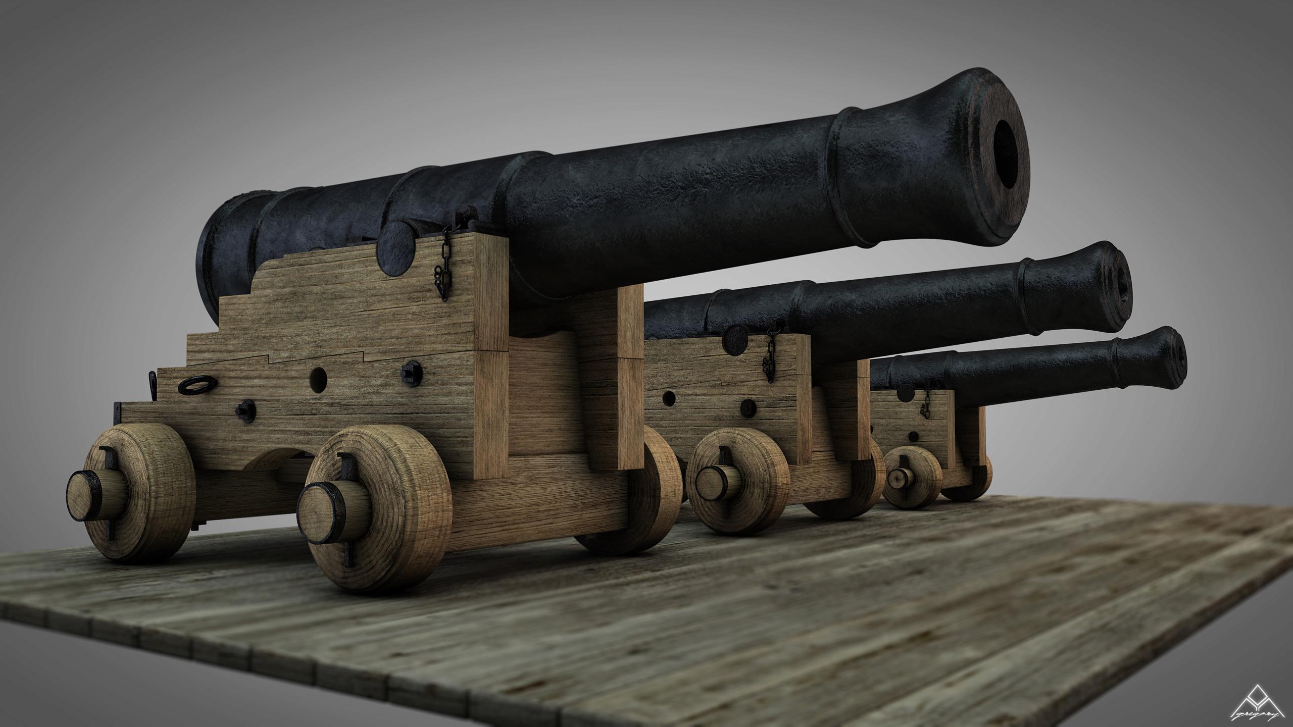 Canons vaisseau de 74 canons par Greg_3D - Page 3 Ensemb46