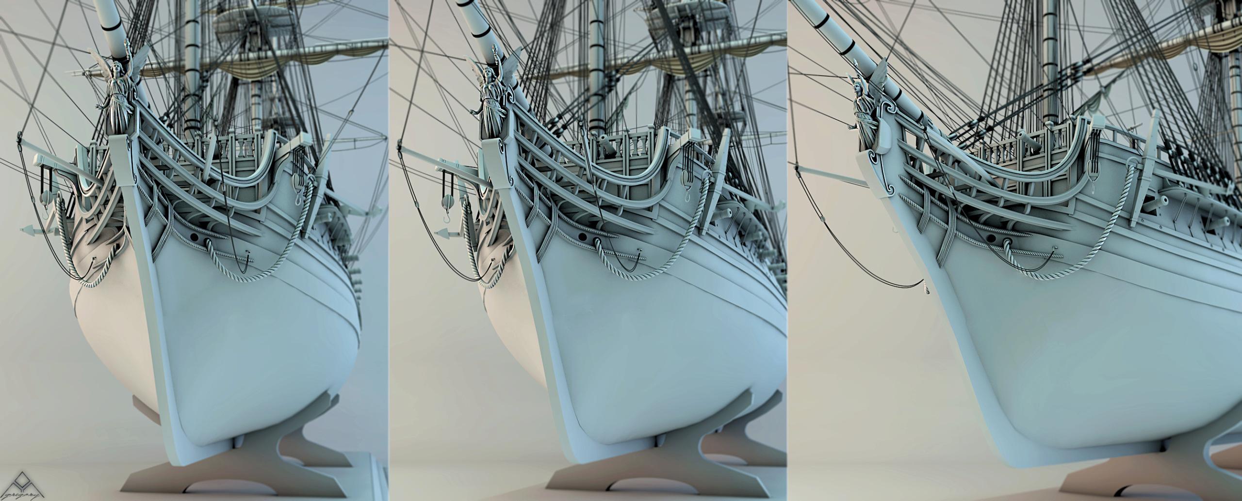 Frégate 3D de 36 canons - Page 3 Frzoga27
