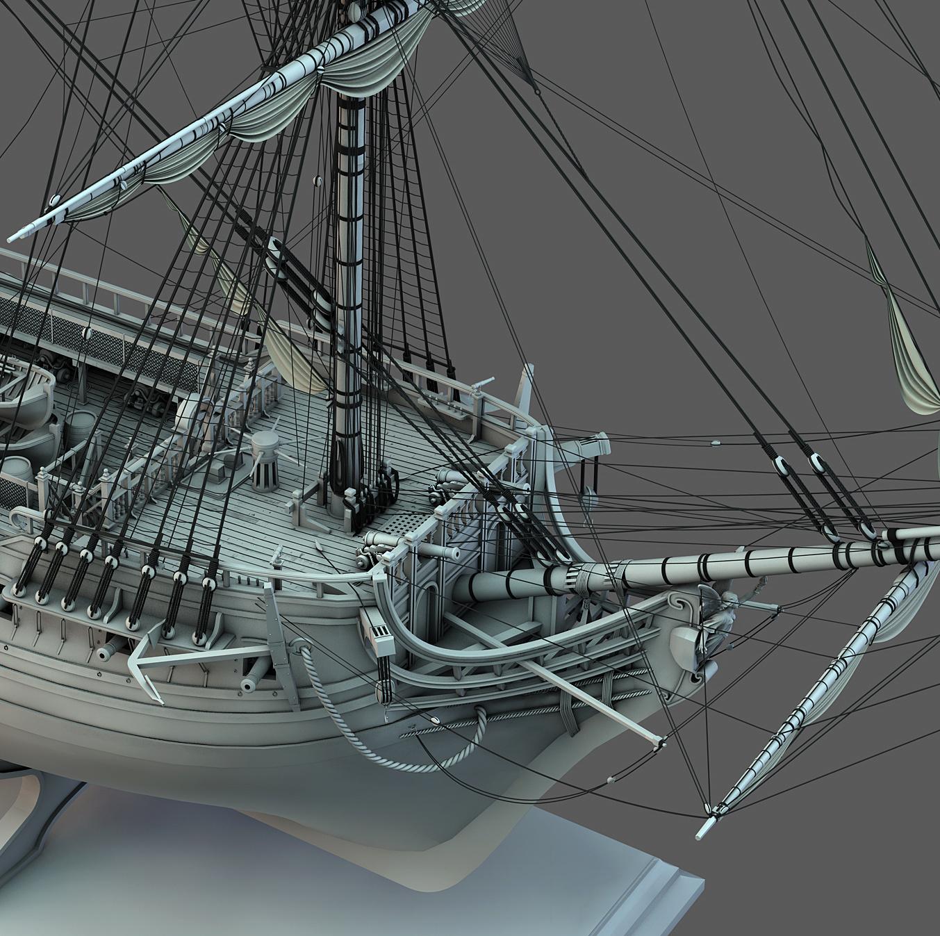 Frégate m'a première réalisation d'un navire en 3D. - Page 10 Frzoga32