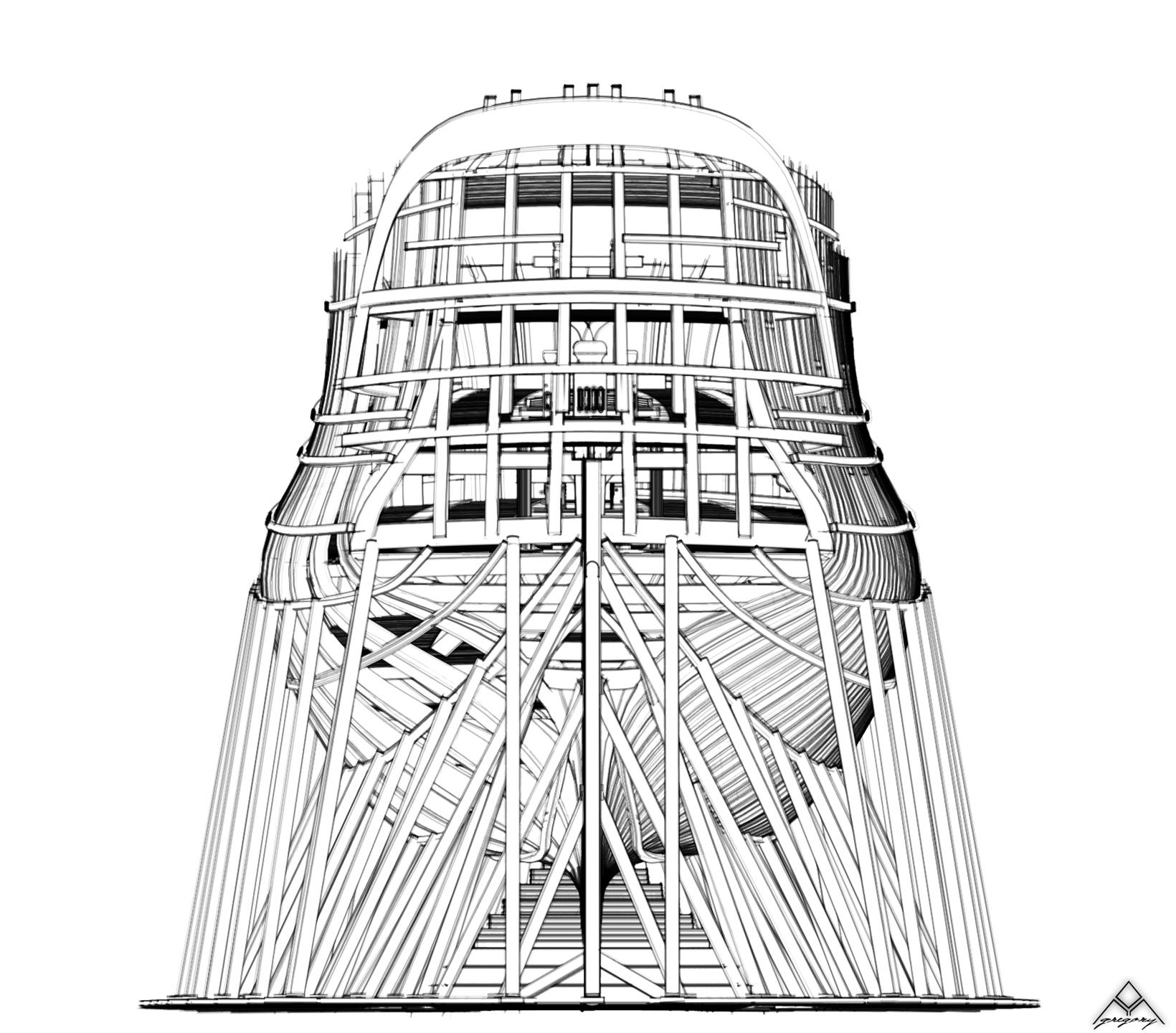Réalisation d'un vaisseau de 74 canons Navire17