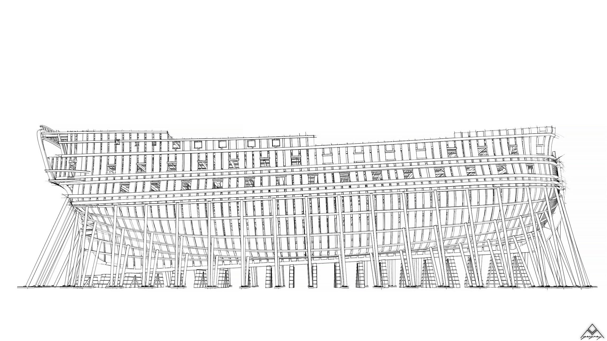 Vaisseau 74 canons Lucide [Création 3D] de Greg_3D - Page 18 Navire31