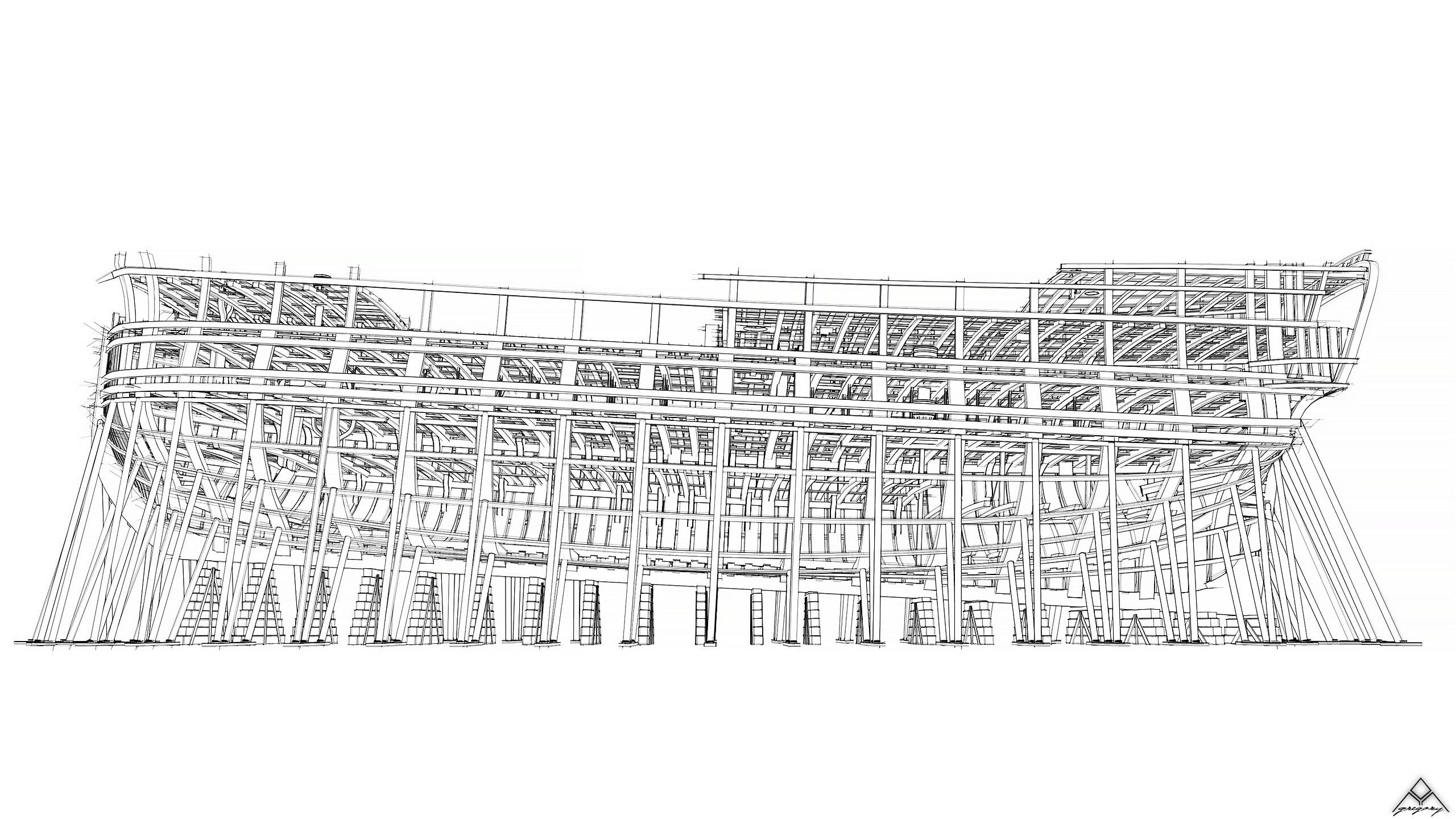 Vaisseau 74 canons Lucide [Création 3D] de Greg_3D - Page 18 Navire34