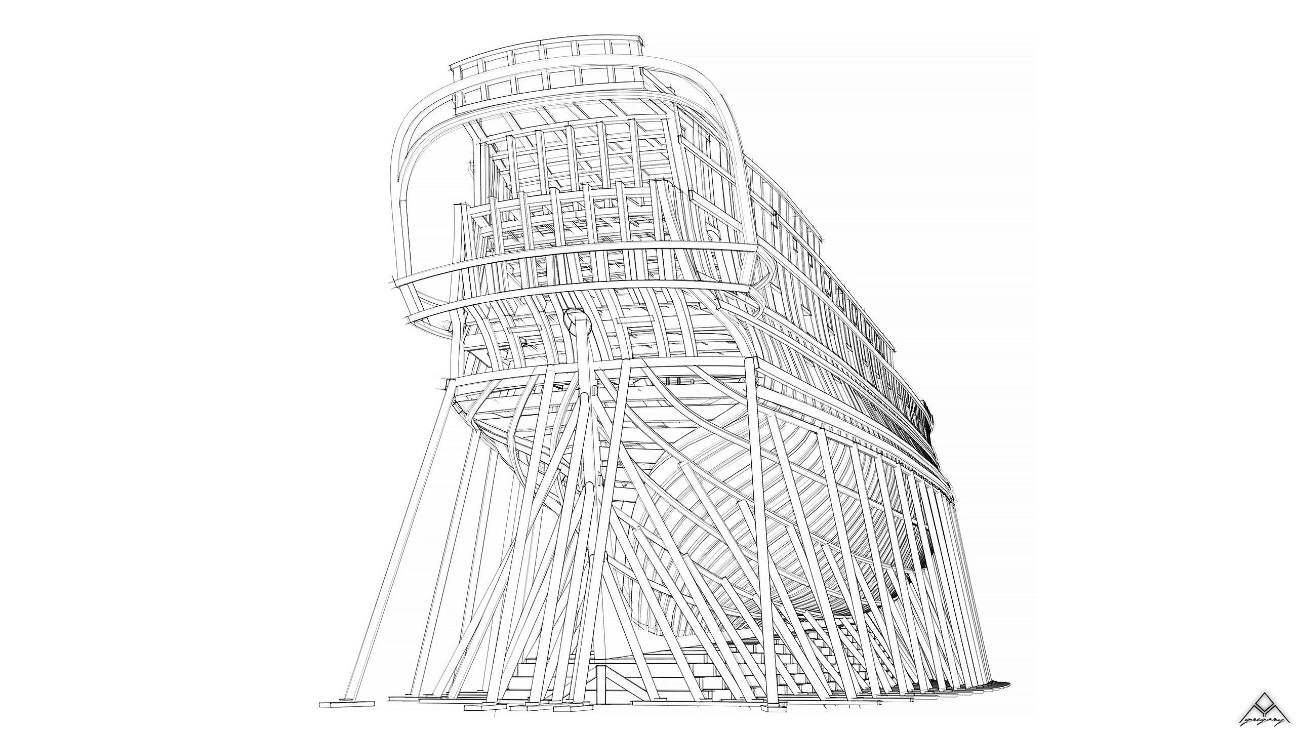 Vaisseau 74 canons Lucide [Création 3D] de Greg_3D - Page 19 Navire35