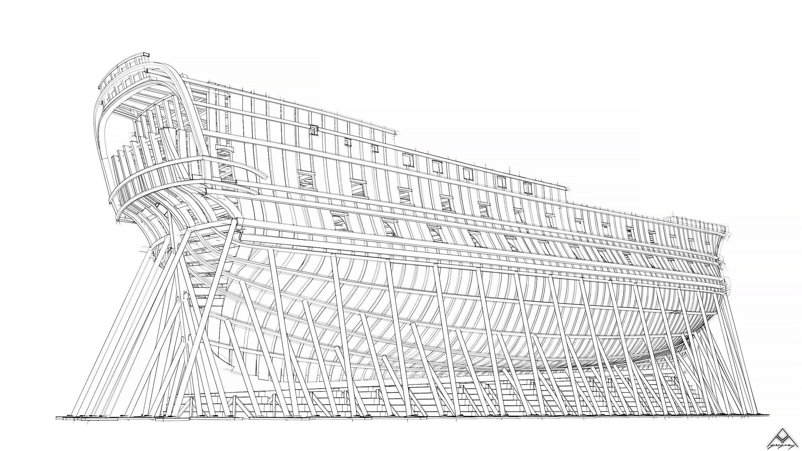 Vaisseau 74 canons Lucide [Création 3D] de Greg_3D - Page 19 Navire37