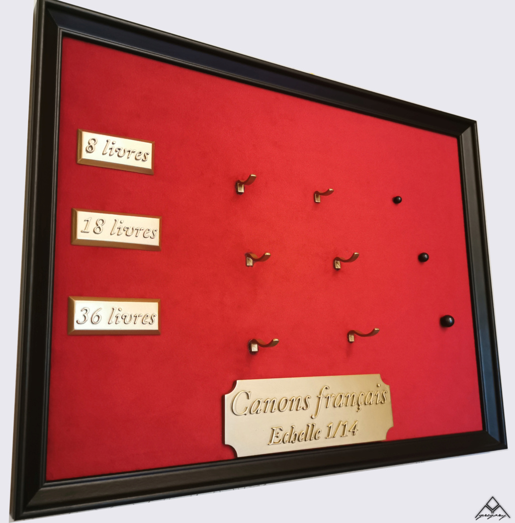 Canons 36, 18 et 8 livres (1/14°) par Greg_3D Tablea26