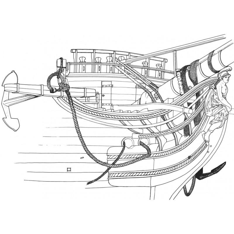 Etapes de construction 3D d'un navire de 74 canons. - Page 16 Vaisse10