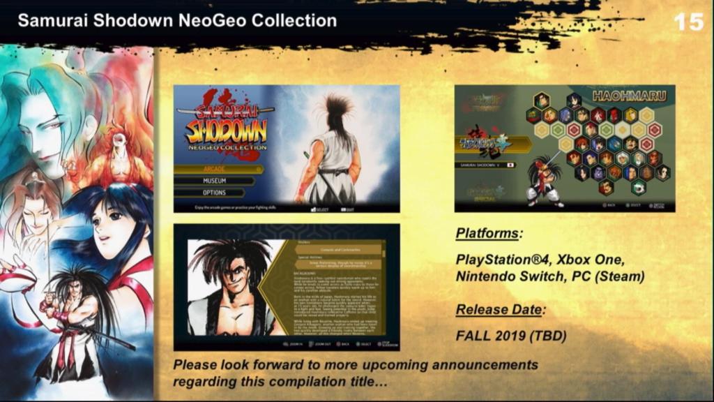 Samurai Shodown Collection (PS4/XONE/SWITCH/PC) Captur18