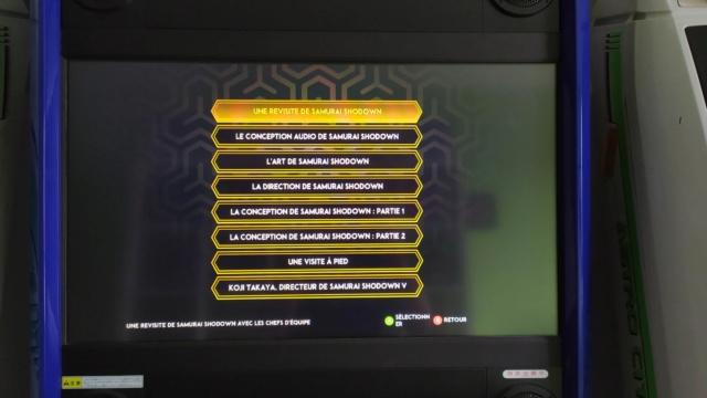 PIX'NLOVE éditera SAMURAI SHODOWN NEOGEO COLLECTION sur PS4 et Switch - Page 3 Img_2027